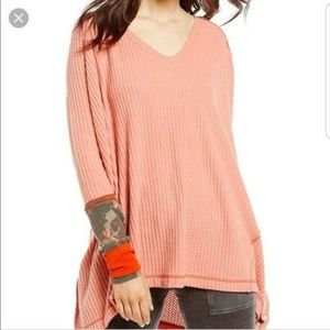 Free People We The Free Lovin' Thermal Top XS